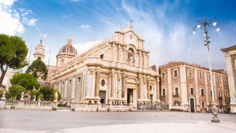 Flug nach Catania