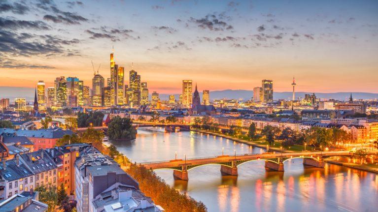 Flug nach Frankfurt