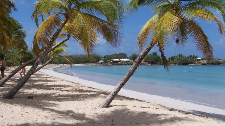 Strand, Martinique