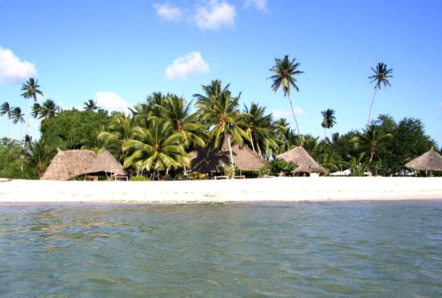 Strand Sansibar Tansania