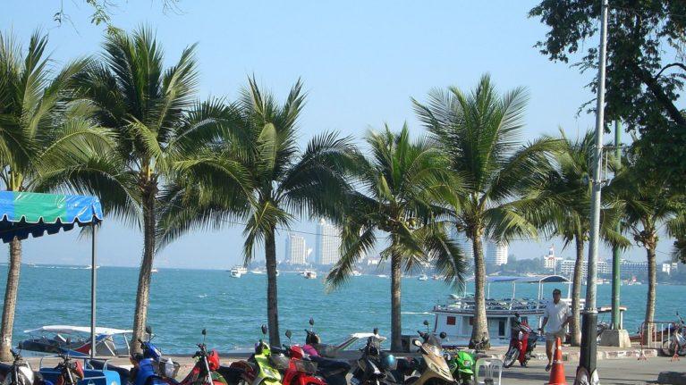Strandpromenade Pattaya