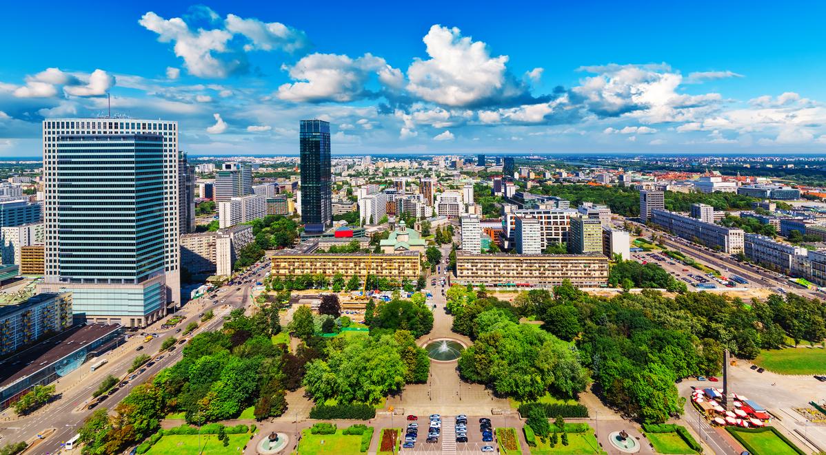 Nürnberg (NUE) – Warschau (WAW)