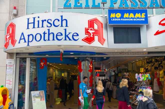 Hirsch Apotheke Zeil 1