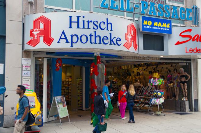 Hirsch Apotheke Zeil 2
