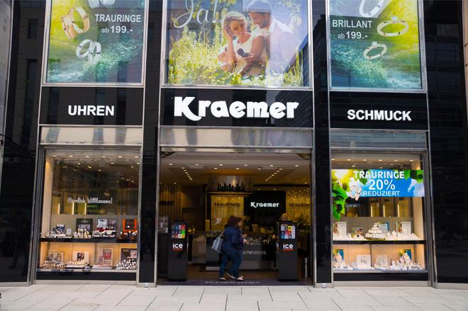 Juwelier Kraemer Zeil 1