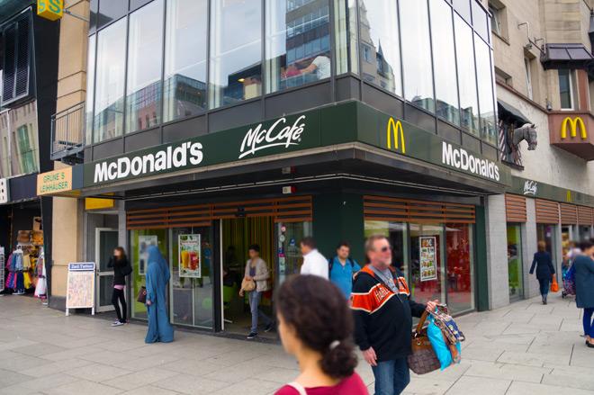 McDonalds's Zeil 2
