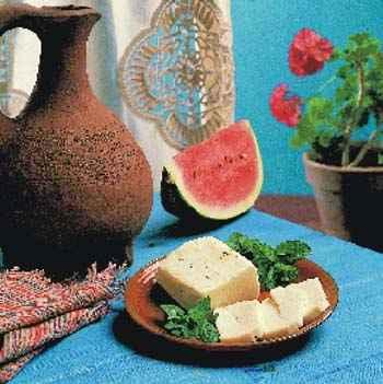 Halloumi Käse frisch