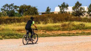 Mountainbiker auf Zypern