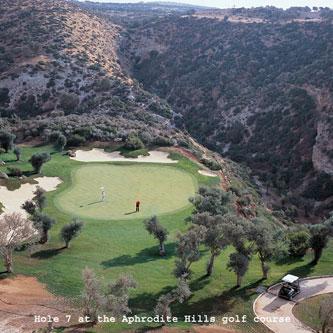Golfen auf Zypern