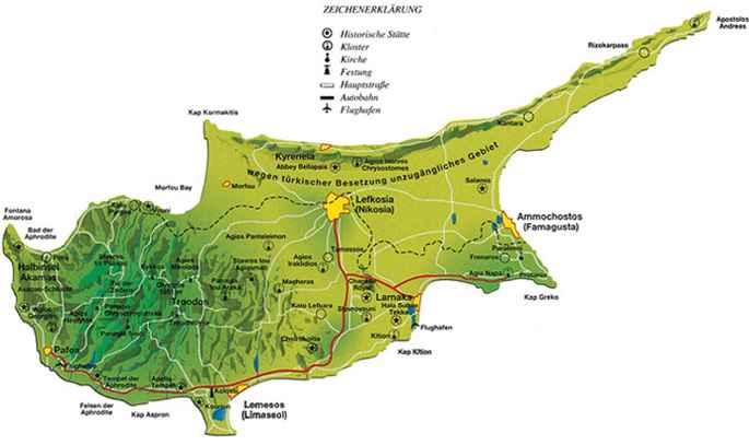Zypern Auf Einen Blick Informationen Uber Zypern